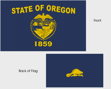 State of Oregon Flag